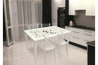 Обеденная группа: Ажур мини (стол+4 стула)