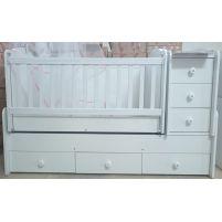 Детская кровать-трансформер B-526 Белый