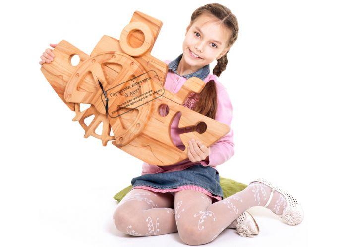 Часы Катерок Ч03, Детская мебель, Модульные детские комнаты, Буковка, Стоимость 3459 рублей., фото 3