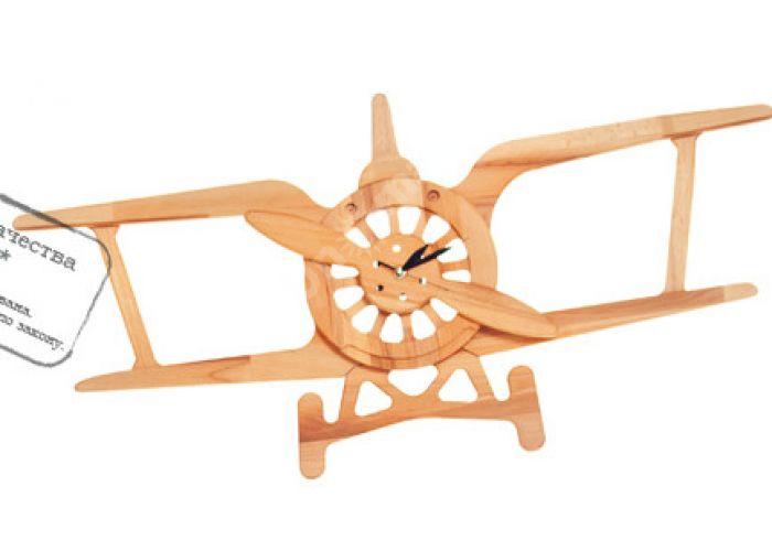 Часы Самолетик Ч04, Детская мебель, Модульные детские комнаты, Буковка, Стоимость 4418 рублей.