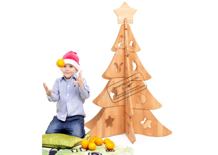 ЭД01 Ёлочка Декоративный элемент, Детская мебель, Модульные детские комнаты, Буковка, Стоимость 9129 рублей.