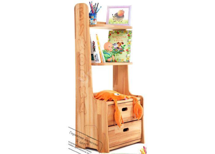 Буковка, Стеллаж Б04, Детская мебель, Модульные детские комнаты, Буковка, Стоимость 11594 рублей.