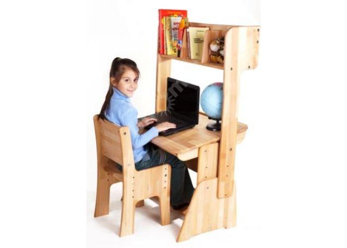 С890 Парта-растишка с пеналом, Детская мебель, Детские парты, Стоимость 6338 рублей., фото 3