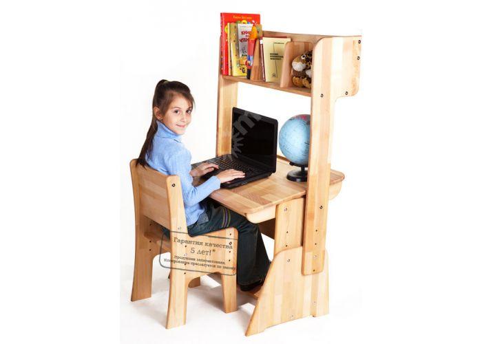 С886 Парта-растишка без пенала, Детская мебель, Детские парты, Стоимость 8963 рублей., фото 3
