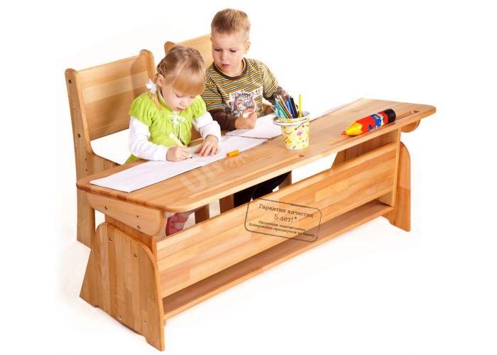 С886 Парта-растишка без пенала, Детская мебель, Детские парты, Стоимость 8963 рублей.