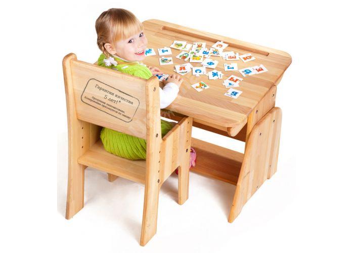 С890 Парта-растишка с пеналом, Детская мебель, Детские парты, Стоимость 6338 рублей., фото 2
