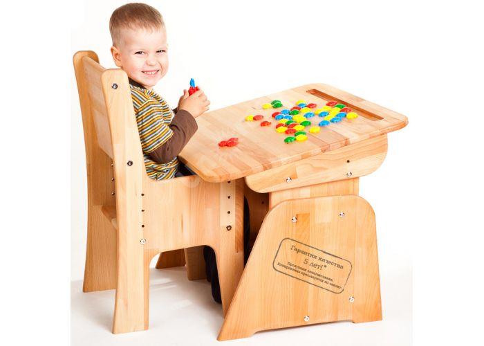 С890 Парта-растишка с пеналом, Детская мебель, Детские парты, Стоимость 6338 рублей.