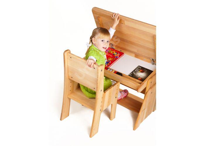 С890 Парта-растишка с пеналом, Детская мебель, Детские парты, Стоимость 6338 рублей., фото 5