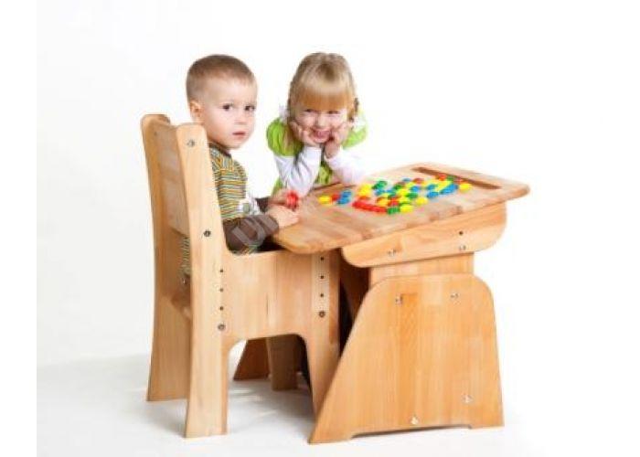 С888 Парта-растишка без пенала, Детская мебель, Детские парты, Стоимость 5617 рублей., фото 2