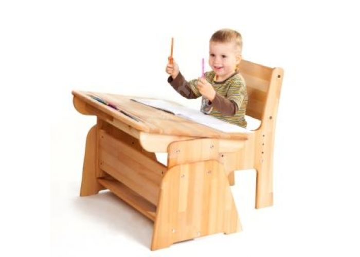 С888 Парта-растишка без пенала, Детская мебель, Детские парты, Стоимость 5617 рублей., фото 4