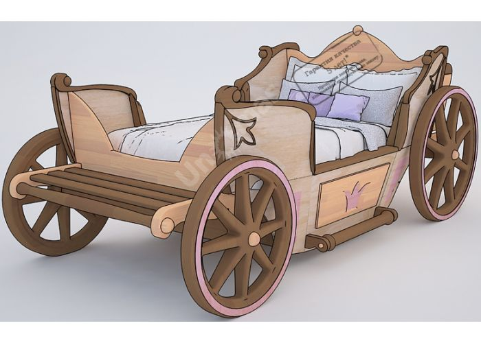 Кровать Карета (90), Детская мебель, Детские кровати, Стоимость 115233 рублей.