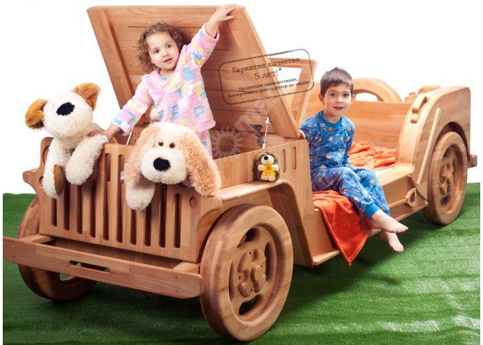 Кровать-машина Джип Willys (80), Детская мебель, Детские кровати, Стоимость 115233 рублей.