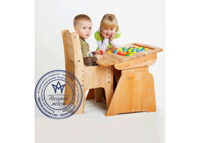 С470 Парта с пеналом, подстаканниками, мольбертом Бук розовый, Детская мебель, Детские парты, Стоимость 9587 рублей., фото 2