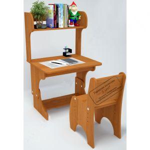 С777+ С778+ С779 Комплект : парта-растишка с пеналом,надстройка, стул