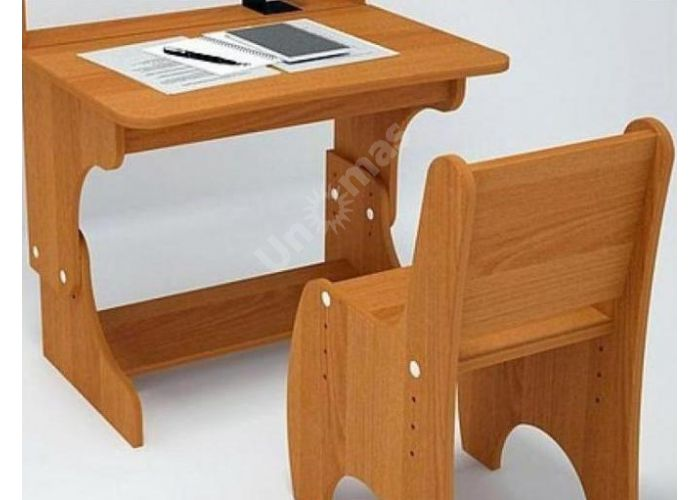 С777 Парта-растишка с пеналом, Детская мебель, Детские парты, Стоимость 3276 рублей.