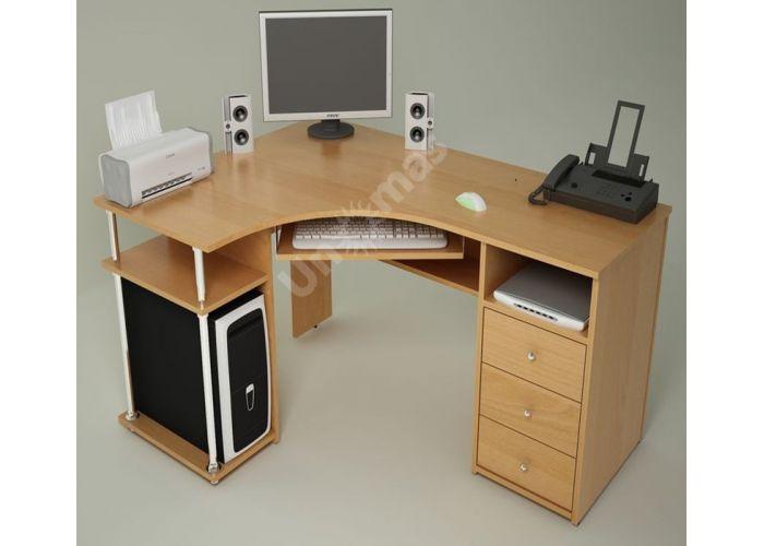 С820 Стол компьютерный, Офисная мебель, Компьютерные и письменные столы, Стоимость 10472 рублей.
