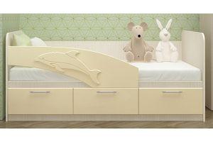 Кровать Дельфин 180 Бежевый
