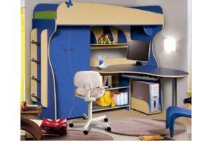 """Набор мебели для жилой комнаты """" Альфа-3"""" КМК 0241"""