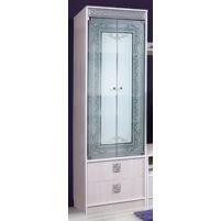 """Багира Тополь, шкаф с витриной """"Багира"""" КМК 0407.1"""