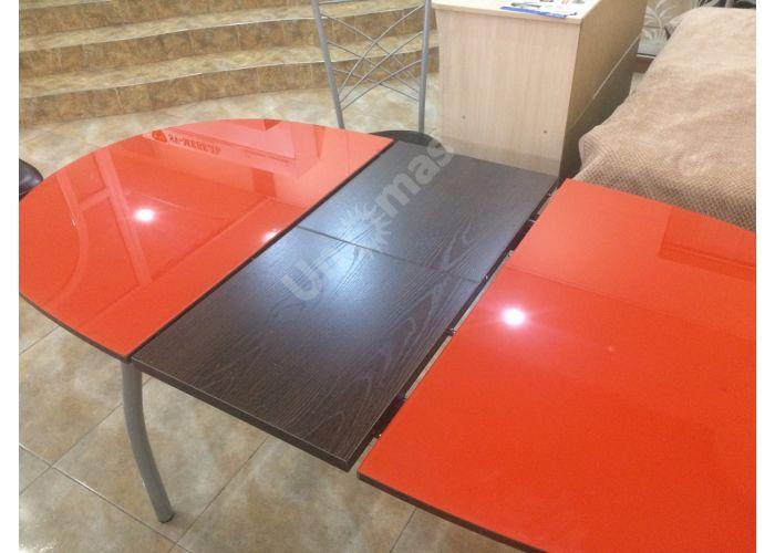 Обеденная группа: столешница Страсбур, металлокаркас Z 300 + стул Есей цвет металлик, сиденье винилкожа 23 (4 шт.), Распродажа, Стоимость 18559 рублей., фото 4