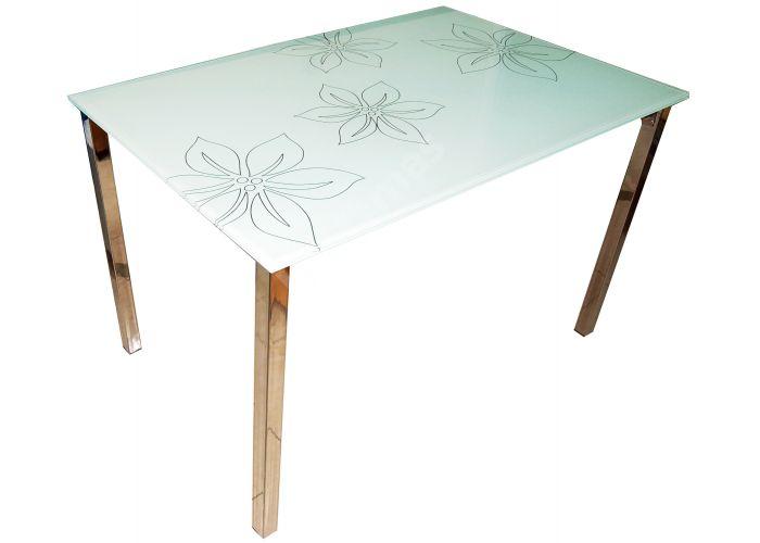 JJT198 1200*800*750 (12 мм) хром/стекло, Кухни, Обеденные столы, Стоимость 5850 рублей.