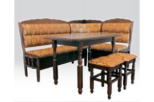 Кухонный уголок Рондо-1 (с двумя стульями)