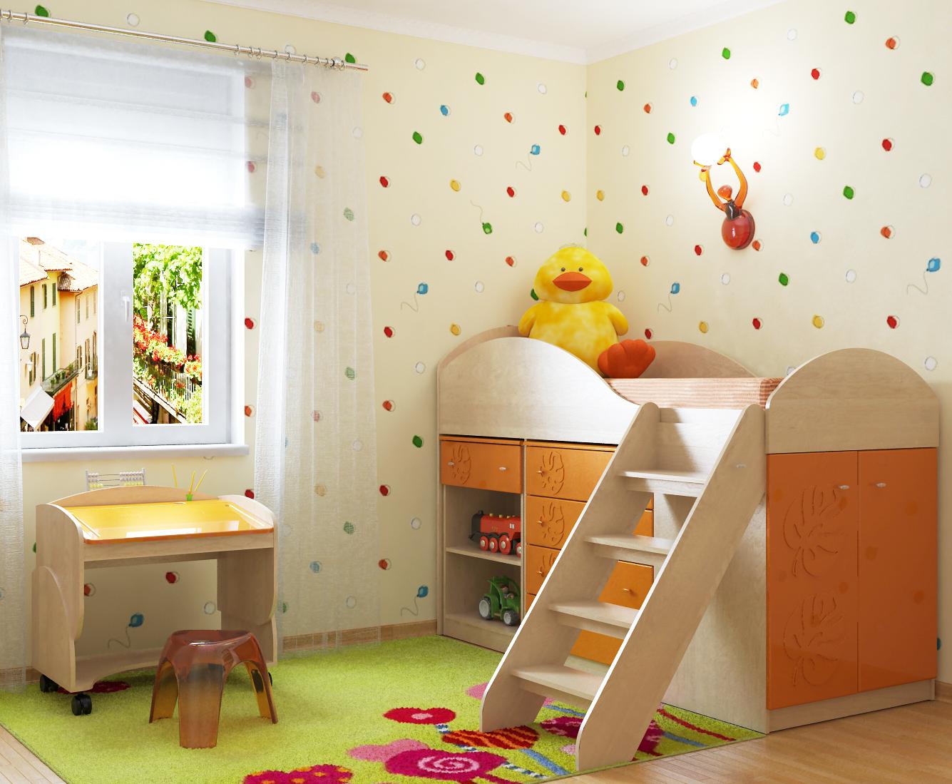 Маугли детская комната Компасс